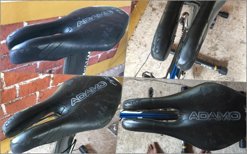 Sumit Patil cycles 24hours. Saddle condition