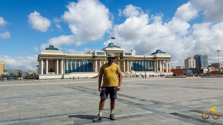 Chinggis Khan Square, Ulaan Baatar
