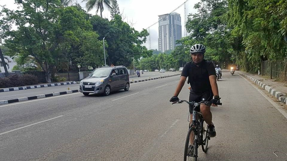 cycle to work in Bangalore