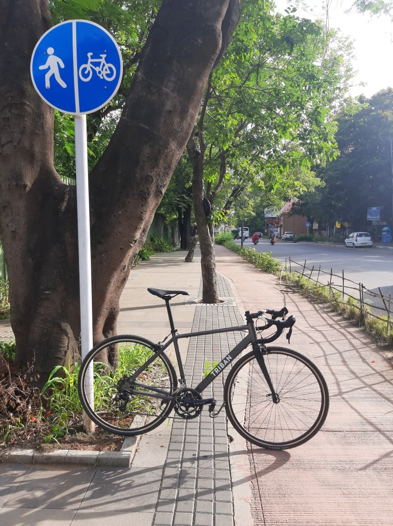 Cycle Track in India