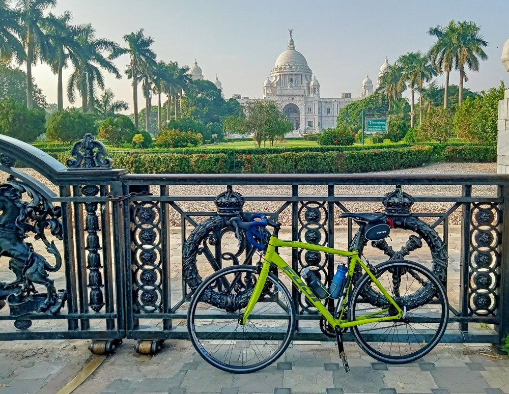 cycling your first century in Kolkata