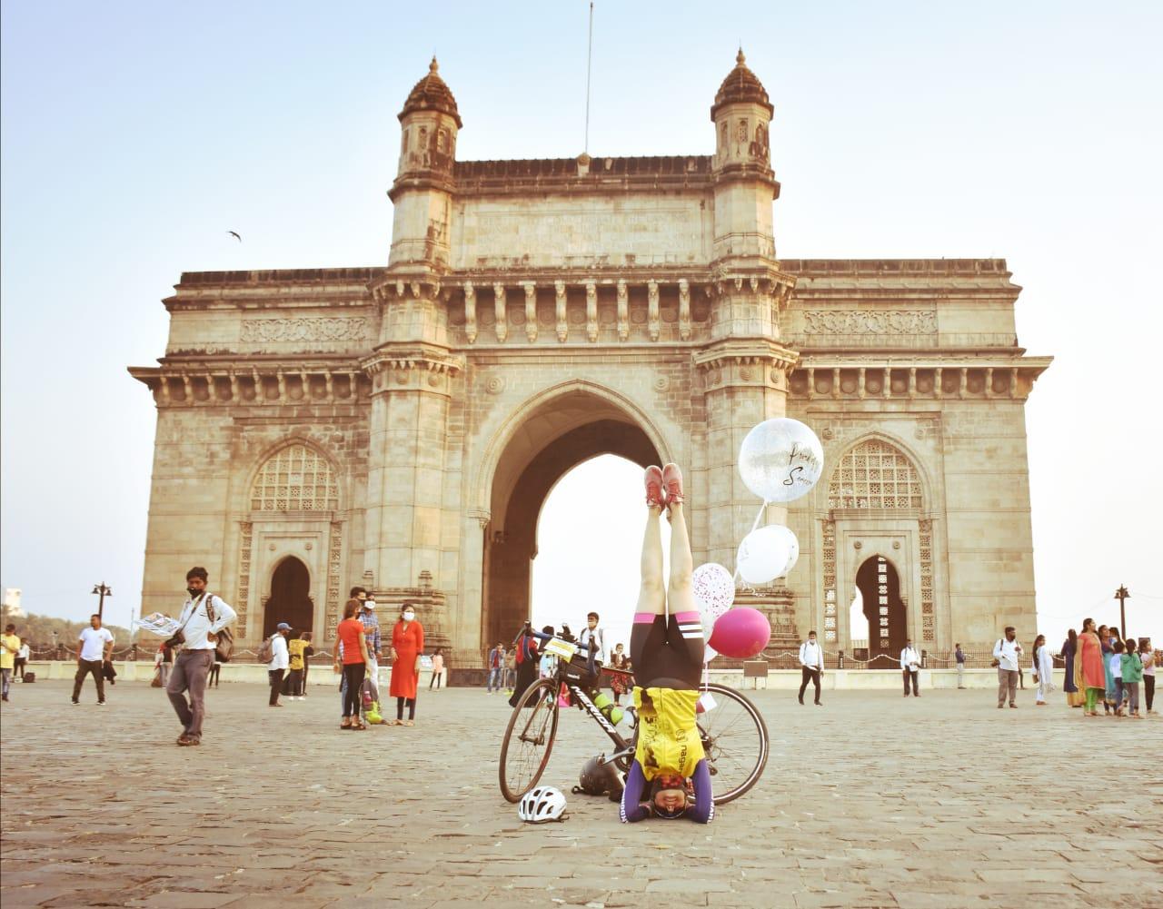 cycling delhi to mumbai