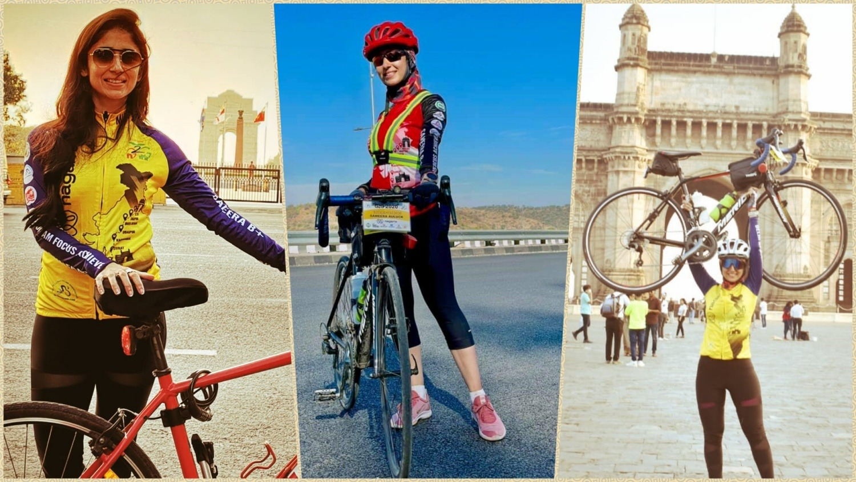 cycling from Delhi to Mumbai