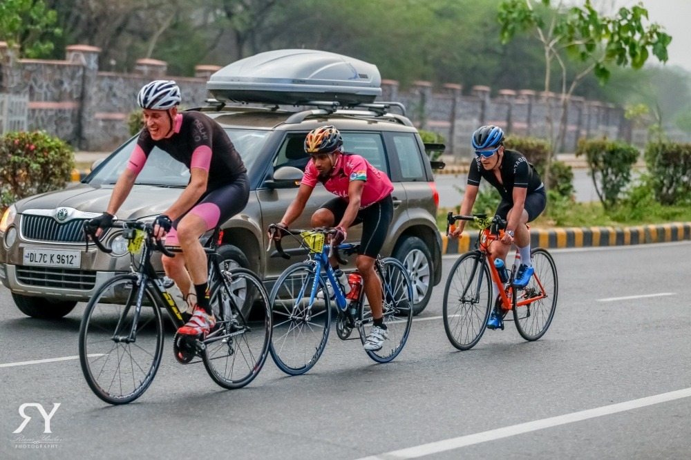 Amateur bicycle races in India