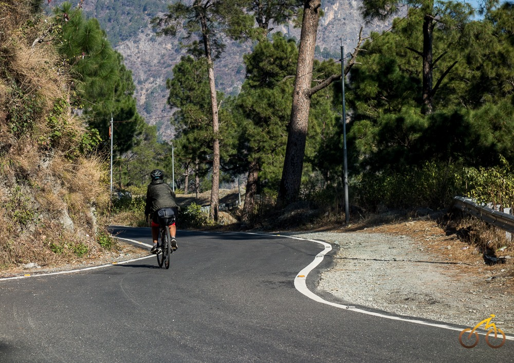 cycling in Garhwal