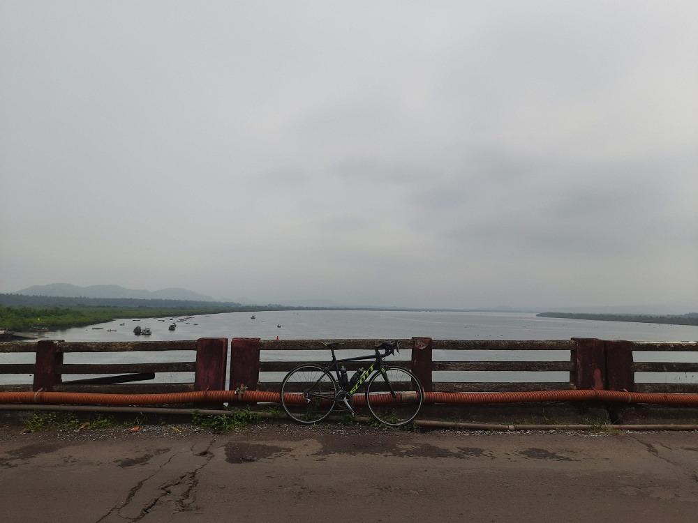 cycling routes in mumbai, alibag