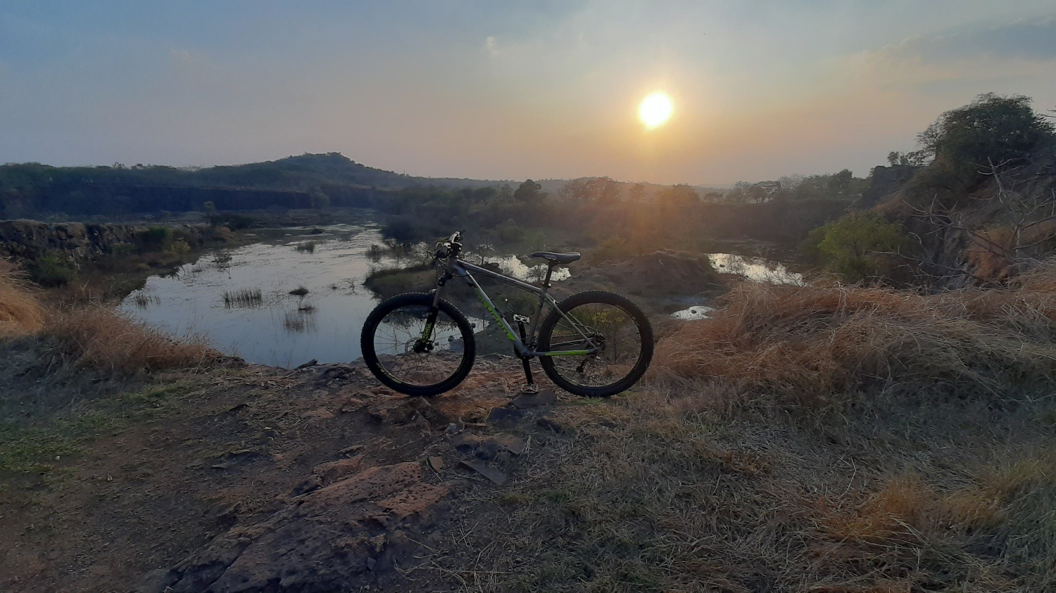 mountain biking in Pune Vetal Tekdi