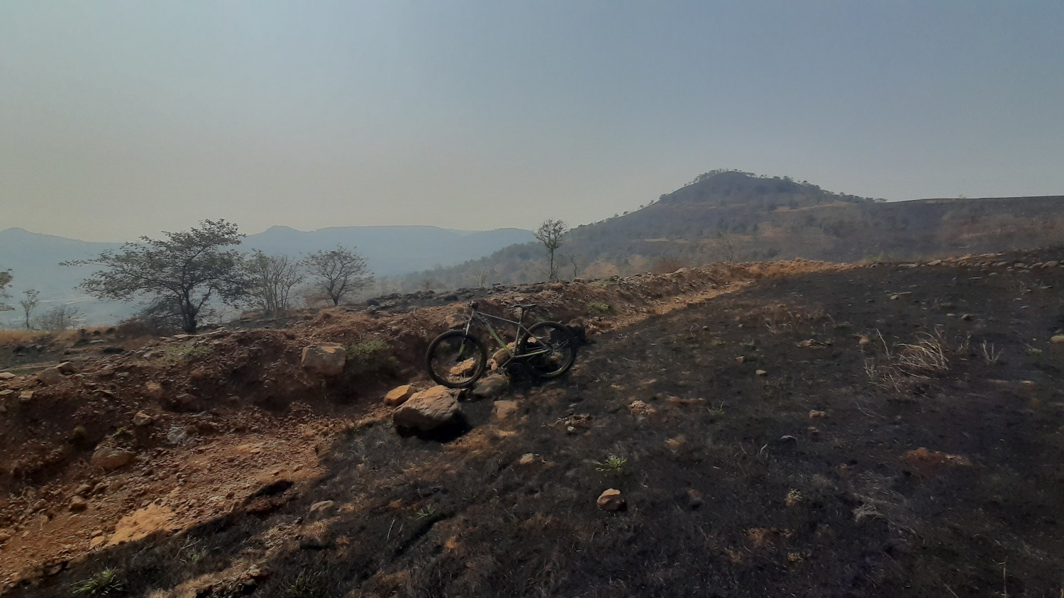 Mountain biking in Pune Sus Hill
