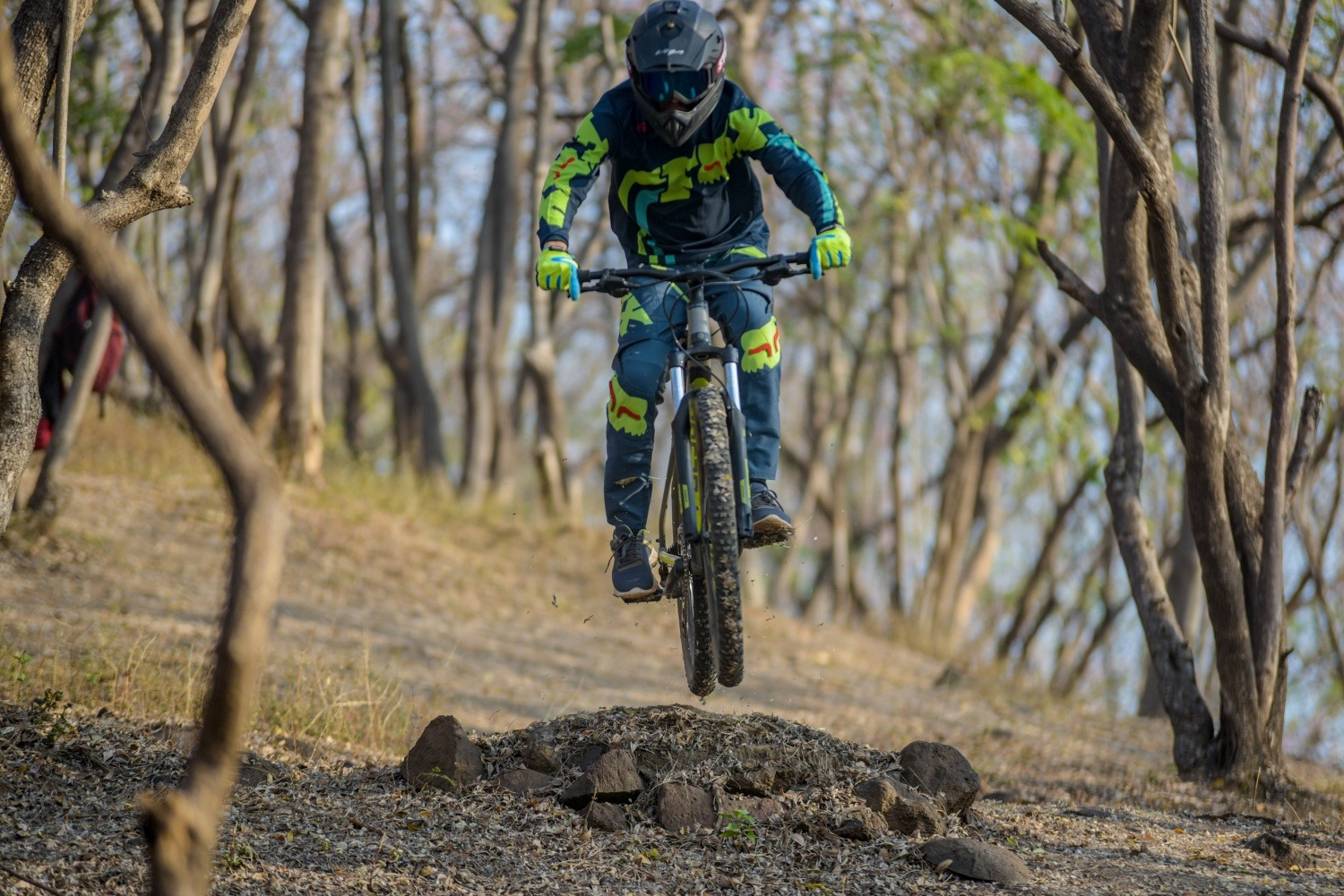 Mountain biking in Pune Pashan Trailpark