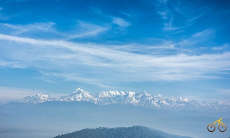 Peaks from Kausani