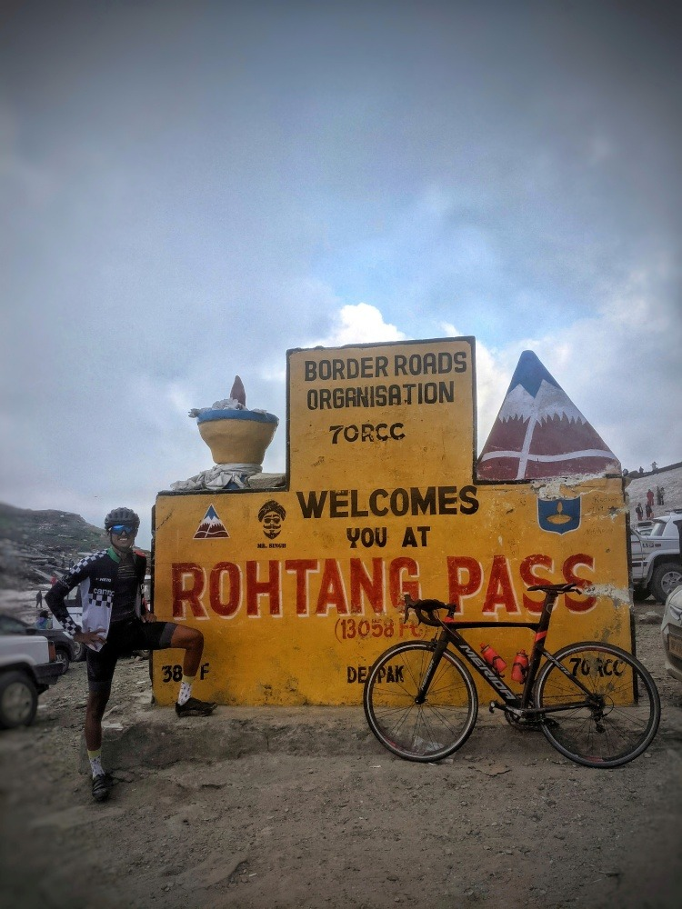 Altitude training in Manali at Rohtang Pass