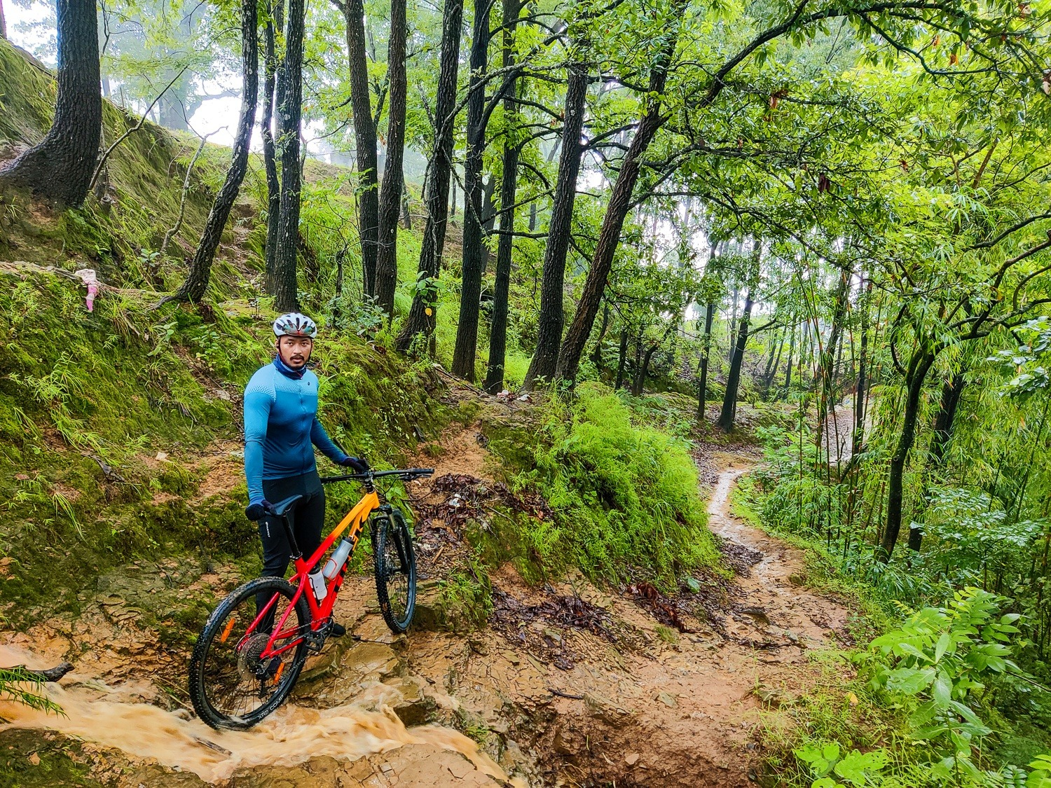 cycling in manipur trails